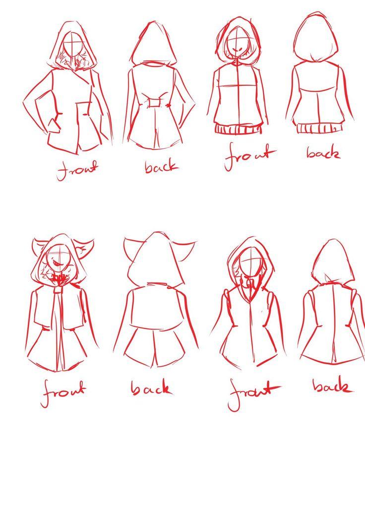 +Art Trade+ Waistcoat designs for skyeraikes by BlueAcacia.deviantart.com on @DeviantArt #waistcoat #design #arttrade #sketch