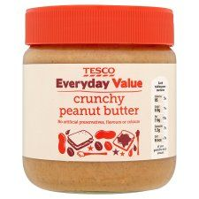 My personal favourite, not luxury but the tastiest I've found! Tesco Everyday Value Crunchy Peanut Butter