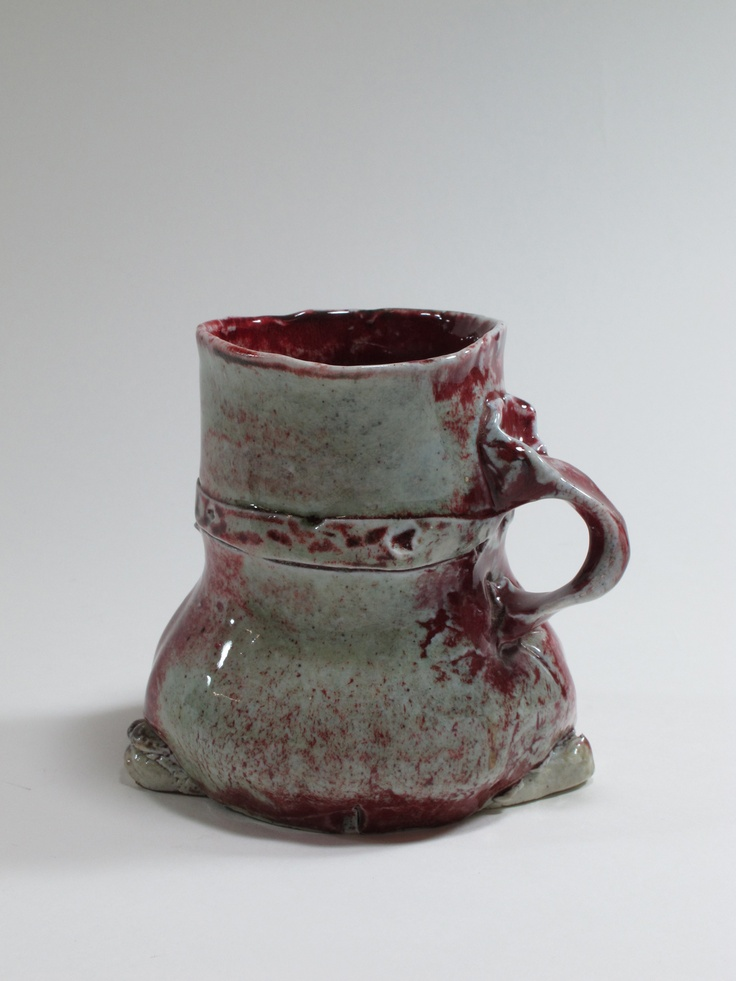 Peter Hawkesby, mug, 1979, Auckland, New Zealand. Collection of Auckland Museum K7063