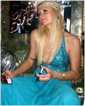 Paris Hilton- People Vaping, Electronic Cigarettes, Celebrities who made the switch.