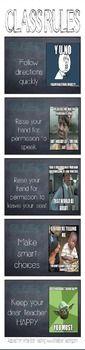 Whole Brain Teaching Class Rules (Memes)