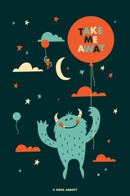 Take Me Away #illustration #draw #character