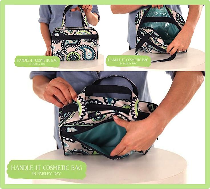 Thirty One Gifts The Handle It Cosmetic Bag Is Perfect