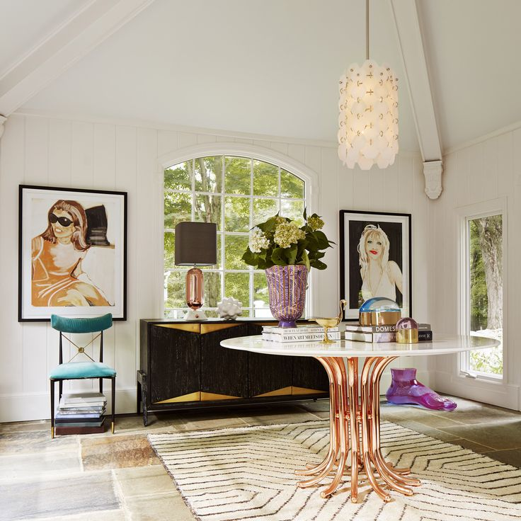 Ultra! Luxe, Loungey, And Louche U2013add Some Halston Era Swank To. Bistro  TablesDining TablesJonathan AdlerHome Decor IdeasStella ...