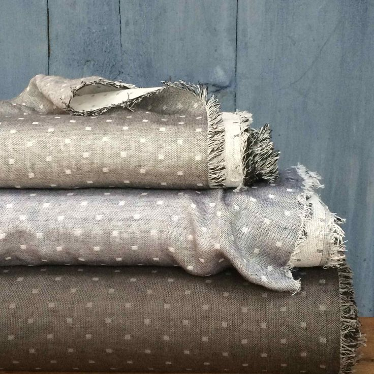Visit our website to see out range of Robert Kaufman Double Gauze Chambray Dobbies, these reversible fabric are really versatile... www.drapersdaughter.com #sewing #dressmaking