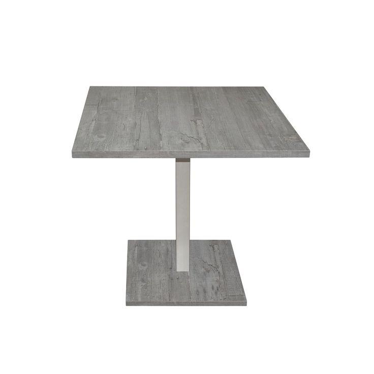 Bistrotisch eckig 80x80 mit Stahlfuß Beton Jetzt bestellen unter: https://moebel.ladendirekt.de/kueche-und-esszimmer/bar-moebel/stehtische/?uid=cc66466d-a408-5a20-b7f8-4aa434db4f4b&utm_source=pinterest&utm_medium=pin&utm_campaign=boards #kueche #günstig #beton #tisch #stehtische #bistrotisch #mäusbacher #esstisch #esszimmer #barmoebel