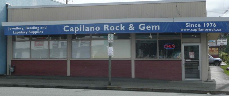 Welcome to Capilano Rock & Gem