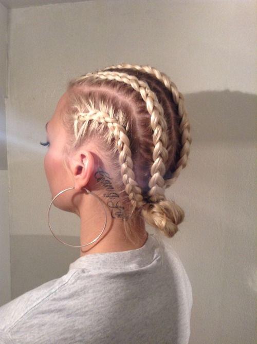 Best 25 Blonde Braids Ideas On Pinterest Make Up