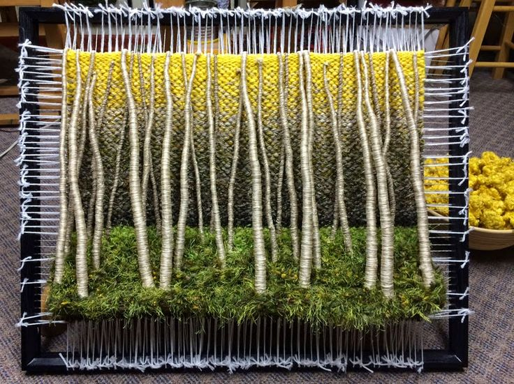 Dimensional Weaving - Martina Celerin 3D fiber art: Aspens, ants, and evil…
