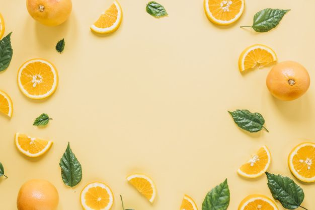 Download Border From Oranges And Leaves For Free Food Border Orange Recipes Fruit Vector