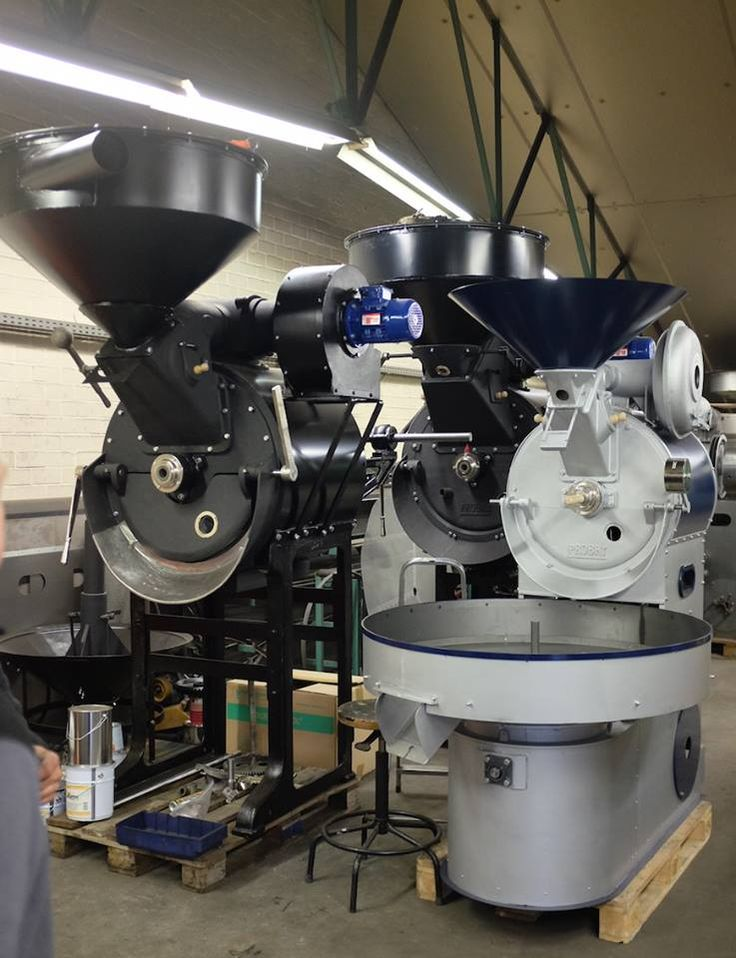 #pražírna #kávy - Bonanza Coffee - Visiting roaster production, Probat G30, G45 & UG22