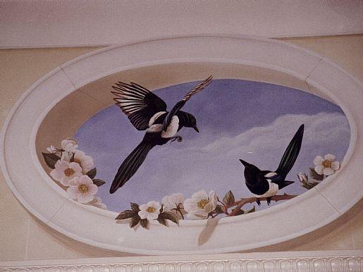 1000 Images About Trompe L 39 Oeil Su Pinterest Soffitti Affrescati Soffitto A Tema Nuvole E