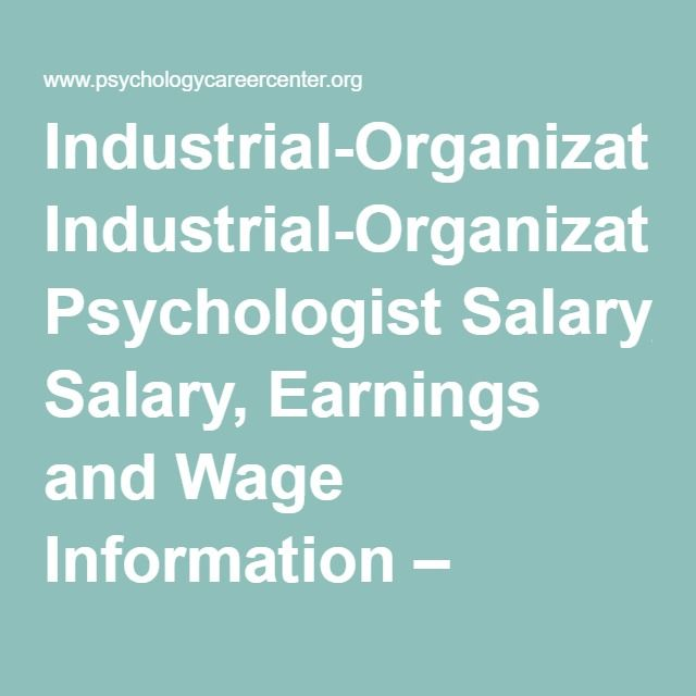 Best 25+ Industrial and organizational psychology ideas on - psychology sample resume