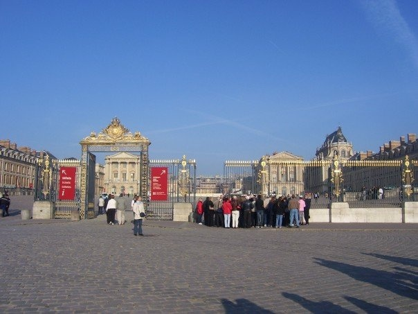 When I go back to Versailles, I'm spending the whole day here.