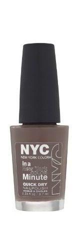 NYC In A New York Color Minute Quick Dry Nail Polish, Park Ave