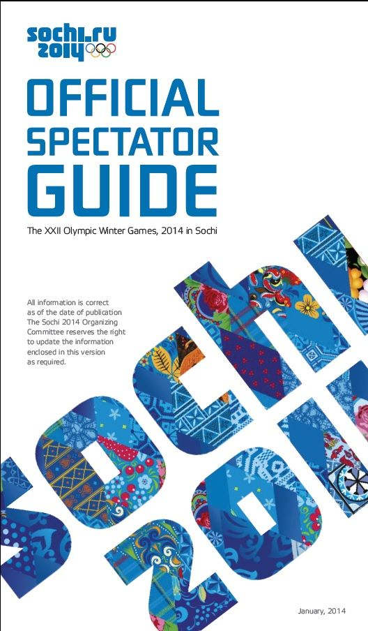 Official Spectator Guide - Sochi 2014 Olympics