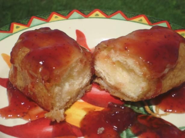 Fried Twinkies from Food.com: a great novelty treat. This receipe is awsome, great for a party, kids love it. Adults enjoy it.