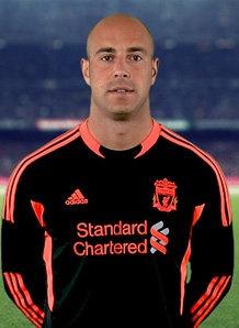 Pepe Reina...Goalkeeper