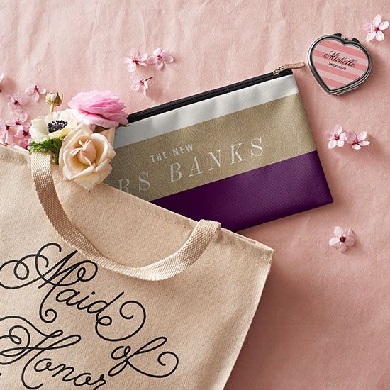 Insanely cute bridesmaid gifts from @zazzle