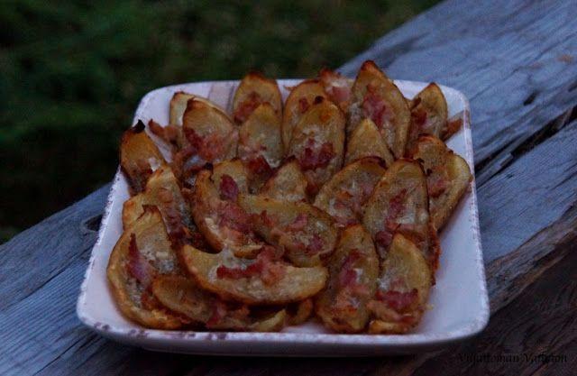 Viljattoman Vallaton: Viinipäiväntasaus; kesäkurpitsapallerot, etanapannu ja sadonkorjuuleipä, sienikeitto ja gratinoidut perunankuoret, fritatut omppurenkaat