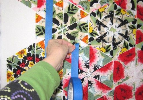 tutorial for the One Block Wonder quilt