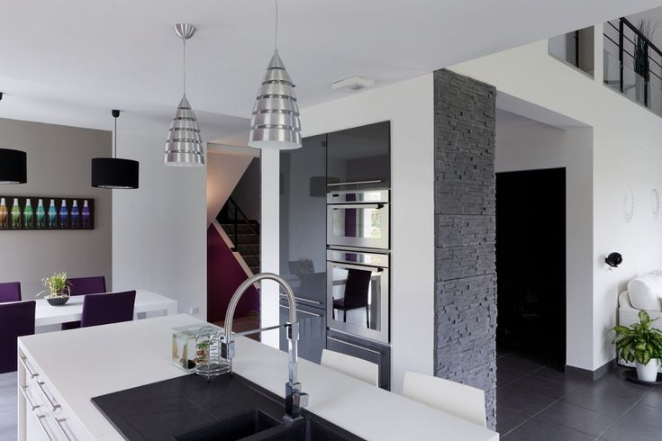 Int rieur moderne maison plain pied clermont ferrand - Interieur maison contemporaine photos ...