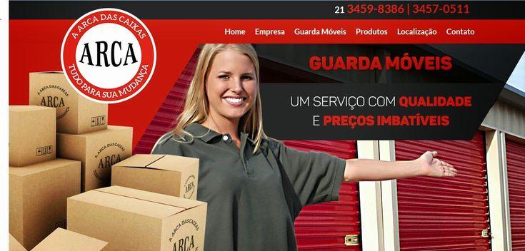 CAIXA DE PAPELÃO : Caixas de Papelão: GUARDA MÓVEIS ! A Arca tem preços imbatíveis para ...