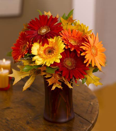 Autumn Wedding Floral Arrangements
