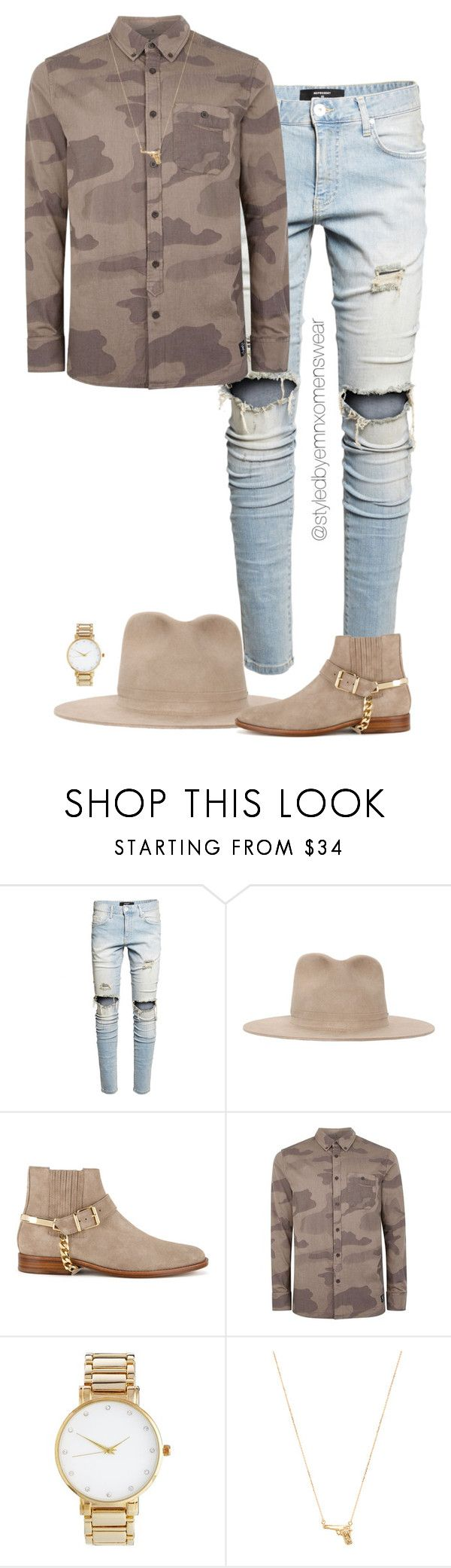 """Untitled #1529"" by efiaeemnxo ❤ liked on Polyvore featuring Super Duper, Balmain, Topman, ASOS, Joolz by Martha Calvo, men's fashion, menswear, mens, MensFashion and sbemnxo"