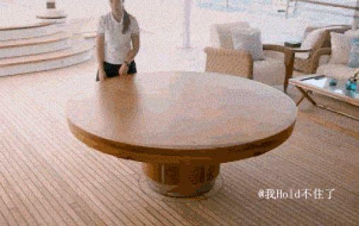 Amazing dinner table