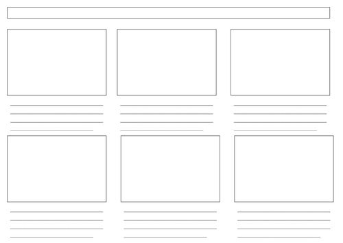 Best Storyboard Template Images On   Storyboard Template