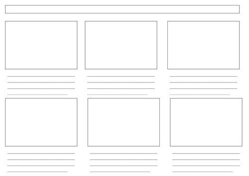 42 best Storyboard images on Pinterest Storyboard template - digital storyboard templates