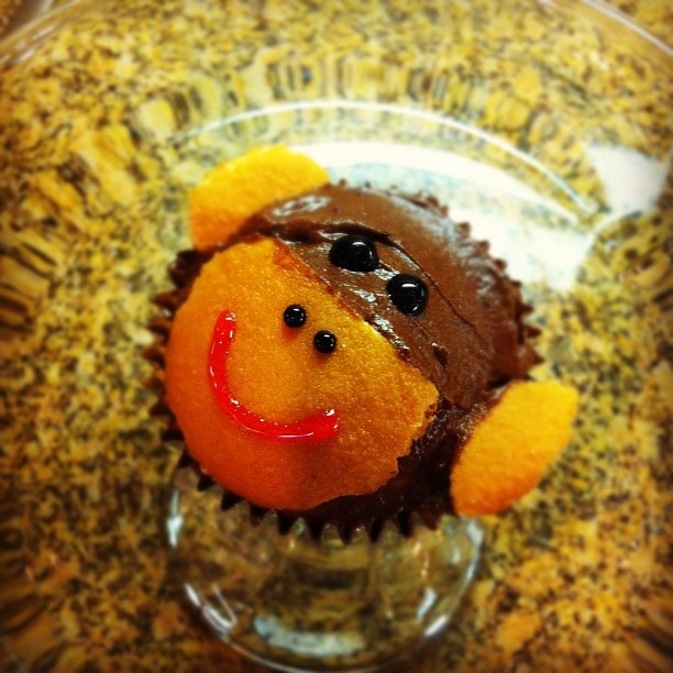 monkey muffins :) | real food | Pinterest