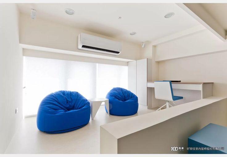 清涼的地中海風_地中海風設計個案—100裝潢網