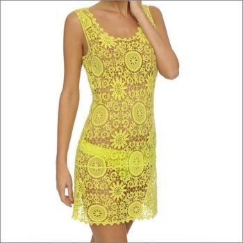 Lingadore Beach Boho Gehaakte Dress