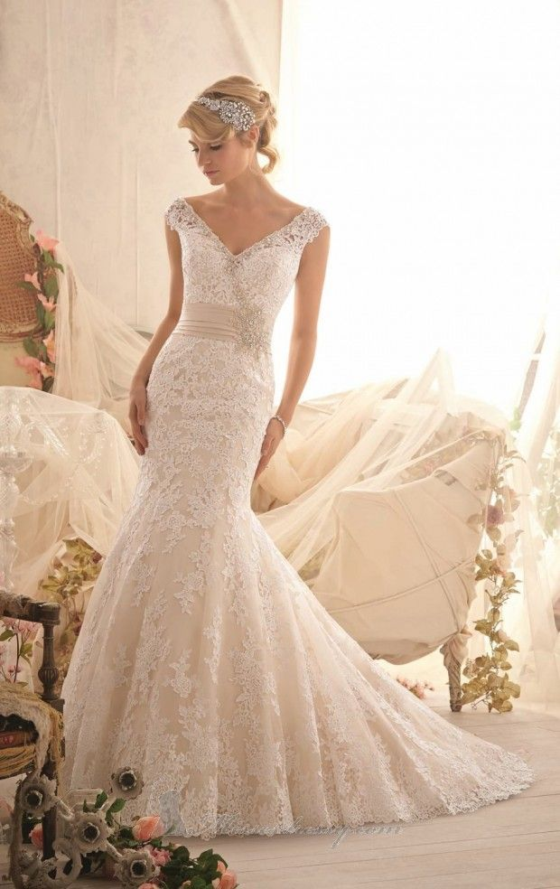 20 Lace Wedding Dresses for Romantic Brides... This is gorgeous.