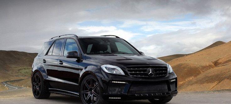 Der Mercedes-Benz ML 63 AMG gehört nicht zu den Fahrzeugen, die sich von der schwachen Seite zeigen.  Im Gegenteil: Ab Werk bringt das SUV mit Stern 525 PS auf