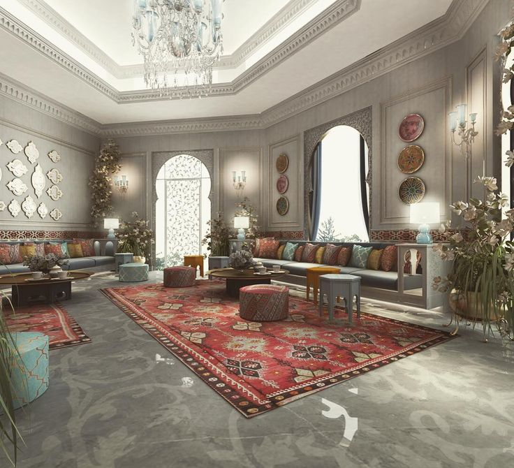 Luxury Interior Design For Villa Palace Private Residence