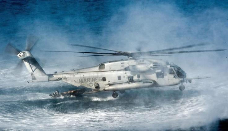 CH-53 E Super Stallion. USMC