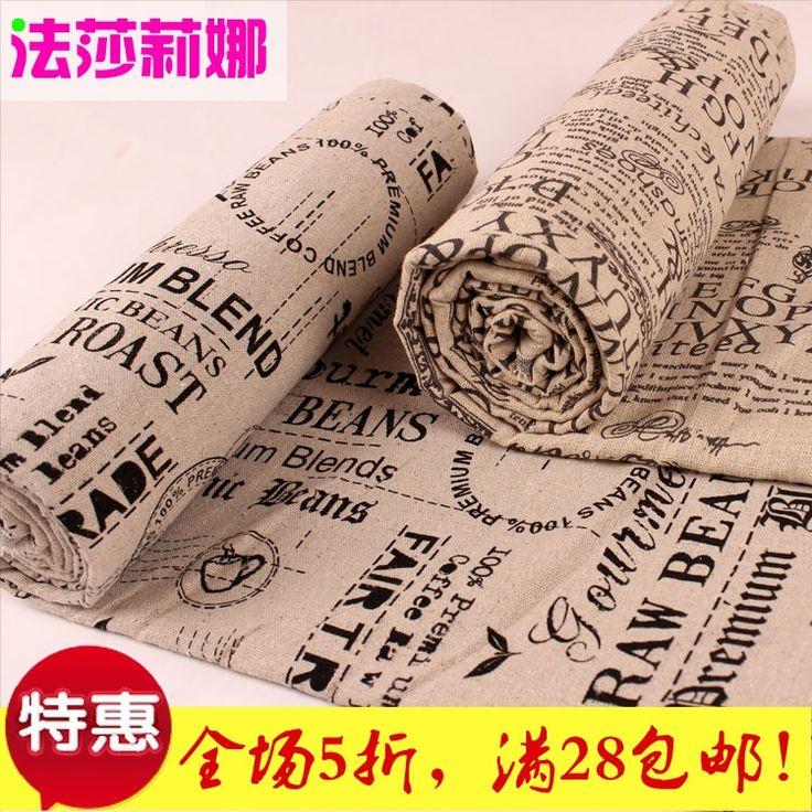 Плюсы толщиной хлопок ткань обивки ткань кабина счетчик съемки фон покрыт два метра ткани бесплатной доставкой - Taobao