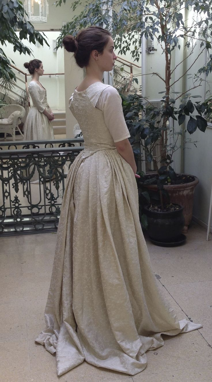 Elizabeth Heida Reed Costume Fitting For Toiles Of