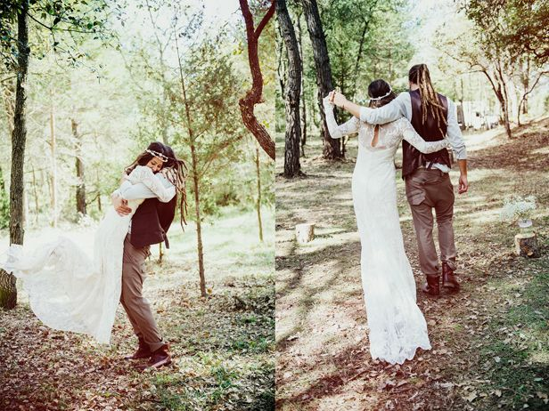Wedding. Spanish, bohemian, rustic, calid colors, mountain, hip wedding.