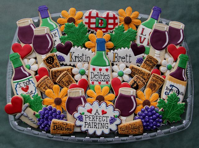Wine Theme Bridal Shower Platter | Flickr - Photo Sharing!