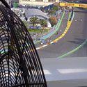 Terrazas y zonas VIP: Ventiladores con agua & sistema de microclima Masterkool - Terraza F1GP. Valencia