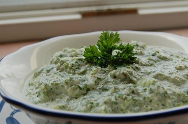 Melting Pot's Green Goddess Dip