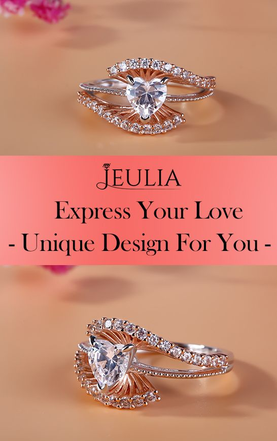 Express your love AND individual sense of style with one of Jewelry by Jeulia's stunning engagement rings. #JeuliaJewelry