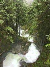 Cascade Falls Regional Park: river in Mission, BC