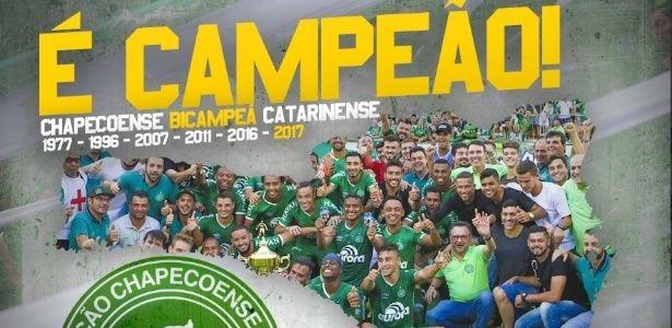 Chape perde, mas é campeã catarinense e conquista 1º título após tragédia