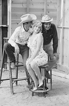 The Misfits (1961): On Monroe's final role, director John Huston later commented that Monroe had drawn from her own experiences to show herself, rather than a character.