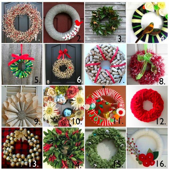 christmas wreaths: Christmas Wreaths, Christmas Time, Wreaths Holidays, Wreathschristma Decor, Wreaths Ideas, Yarns Wreaths, Holidays Wreaths, Winter Wreaths, Diy Christmas